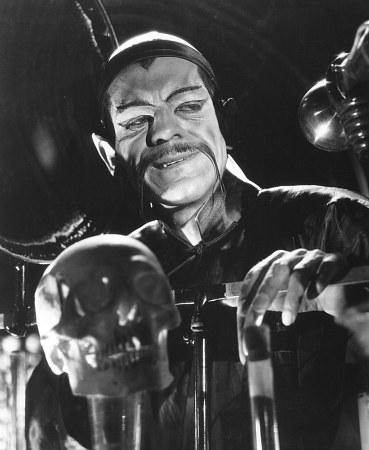 Boris Karloff protagonizó La máscara de Fu Manchú