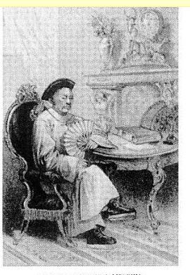 Ilustración del libro The last day of the Republic escrito por Pierton W. Dooner en la que podemos ver al Gobernador de California después de la invasión.