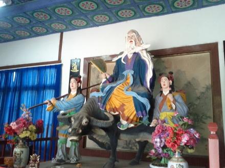 Laozi en su buey